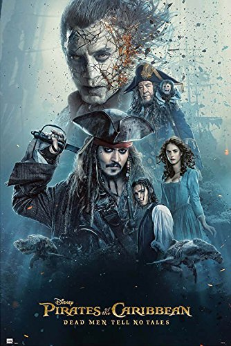 Pirates Of The Caribbean 5: Dead Men Tell No Tales - Movie P