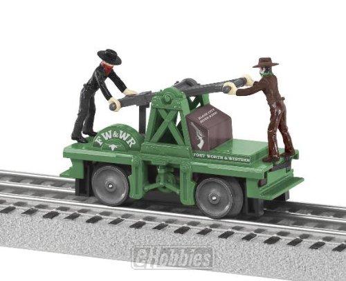 - Lionel 6-38202 O-27 Wild West Handcar
