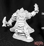 Reaper Thain Grimthorn, Dwarf Cleric 03717 Miniatures