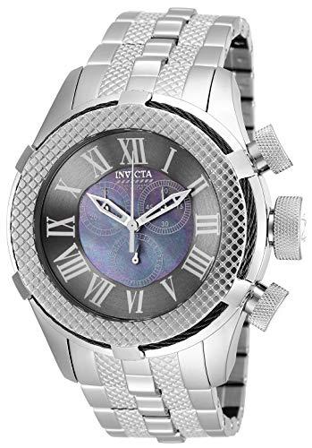 Invicta Men's 17431 Bolt Analog Display Swiss Quartz Silver Watch