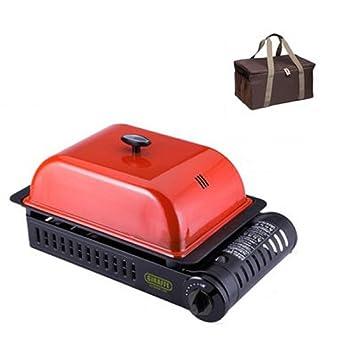 Jirafa gq-1402 gorro rojo barbacoa estufa de gas al aire libre interior resistente cacerola