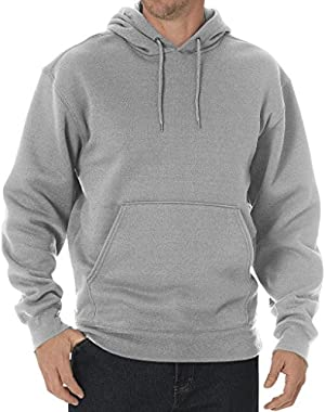 Big & Tall Men's Fleece Pullover Hoodie - Midweight