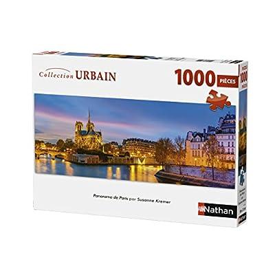 Nathan Puzzle Parigi Kremer 1000 Pezzi Panorama 87577