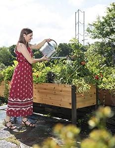 Amazoncom Gardeners Supply 2 Ft x 8 Ft Raised Garden Bed