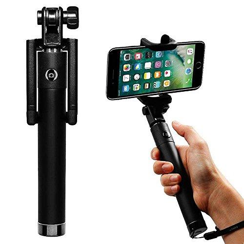 (Pink) Selfie Stock, Doogee MIX selfie kompakter desine i -Tronixs¨ [Neue Version] Fernauslöser Wireless-Selfie Stock, Perfectday faltbare Erweiterbar Hand Einbeinstativ Reisenden (Amazing 20 Stunden  (Blue) Selfie Stick,