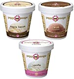 Puppy Cake Puppy Scoops Ice Cream Mix – Variety Pack of 3, Includes: 1-Maple Bacon , 1-Carob, and 1-Vanilla Ice Cream Mix Review