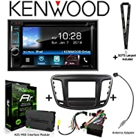 Kenwood Excelon DDX595 6.2 DVD Receiver iDatalink KIT-C200 Dash and wiring kit for select Chrysler, ADS-MRR Interface Module and BAA22 Antenna Adapter and a SOTS Lanyard
