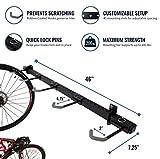 StoreYourBoard 5 Bike Garage Rack, Wall Mount