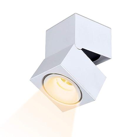 LANBOS 15W Lámpara de techo LED,Foco LED para techo y pared ...
