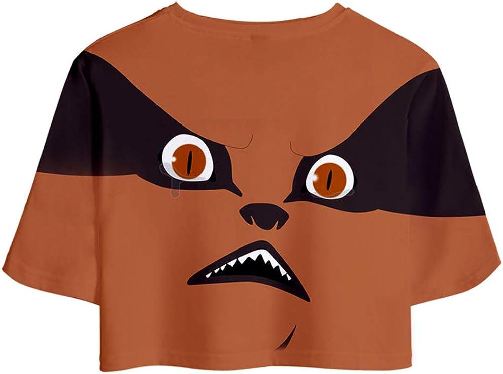 PandaOne Enfant Naruto Anime Ensembles Shorts et Haut T-Shirts Manches Courtes Gar/çon Fille Surv/êtement