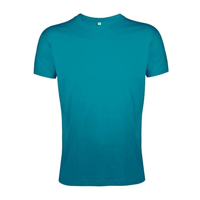 0b7dcd9e3 SOLS Camiseta Entallada Ajustada de Manga Corta Para Hombre - Modelo Regent  Slim Fit  Amazon.es  Ropa y accesorios