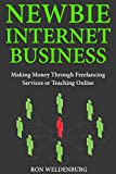 Newbie Internet Business: Making Money Through Freelancing Services or Teaching Online