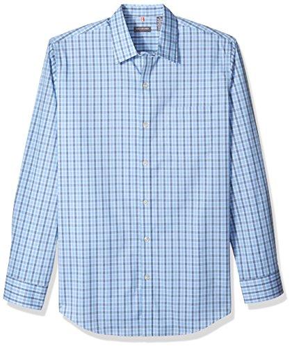 Van+Heusen+Men%27s+Traveler+Stretch+Non+Iron+Long+Sleeve+Shirt%2C+Clear+Air%2C+X-Large