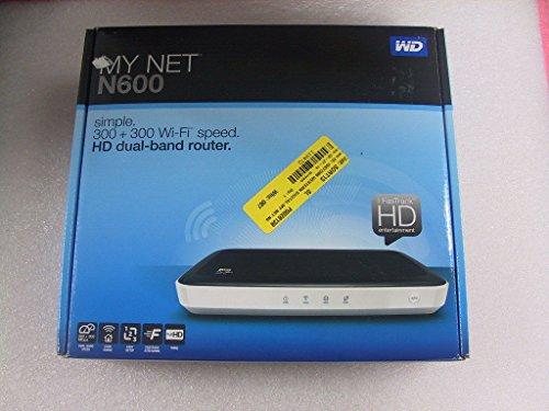 Western Digital WD My Net N600 HD Dual-Band Router WDBEAV0000NWT-AESN