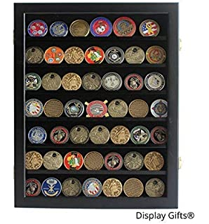Amazon com: Mirrored Back Military Challenge Coin Display