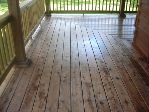 Rainguard 1 Gal Homeowner Wet Look High Gloss Masonry U0026 Wood Acrylic Sealer  Protects Decks, Porches, Patiou0027s, Walkwayu0027s, Pavers. For Use On All All  Types Of ...