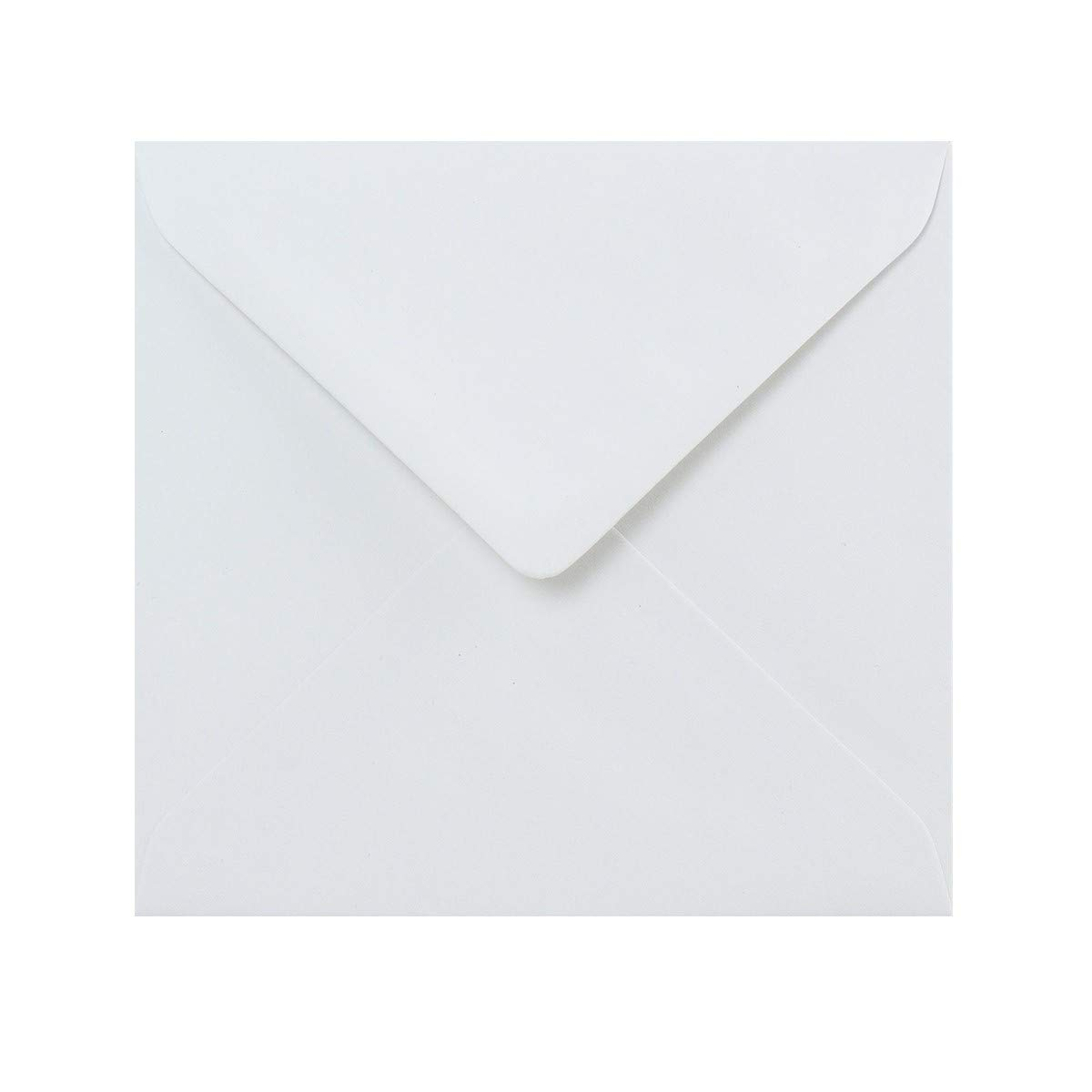 5 x 5 White Envelopes by Cranberry 130mm x 130mm Pack of 50