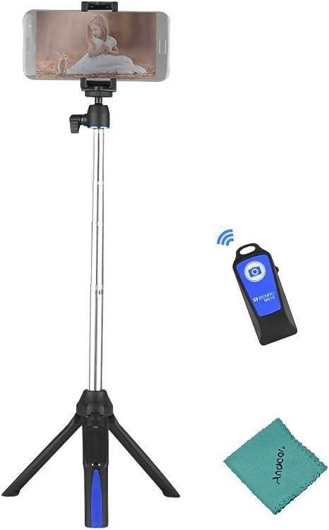 Benro MK10 Selfie Stick trípode con Bluetooth Mando a Distancia ...