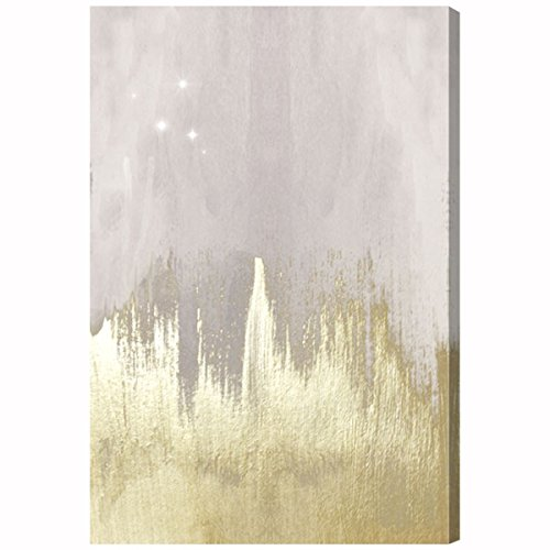 The Oliver Gal Artist Co. 'Offwhite Starry Night' Canvas Art, 24''x36'' by The Oliver Gal Artist Co.