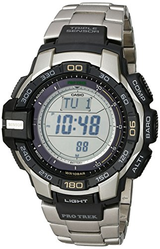 Casio PRG270D 7CR Stainless Steel Solar