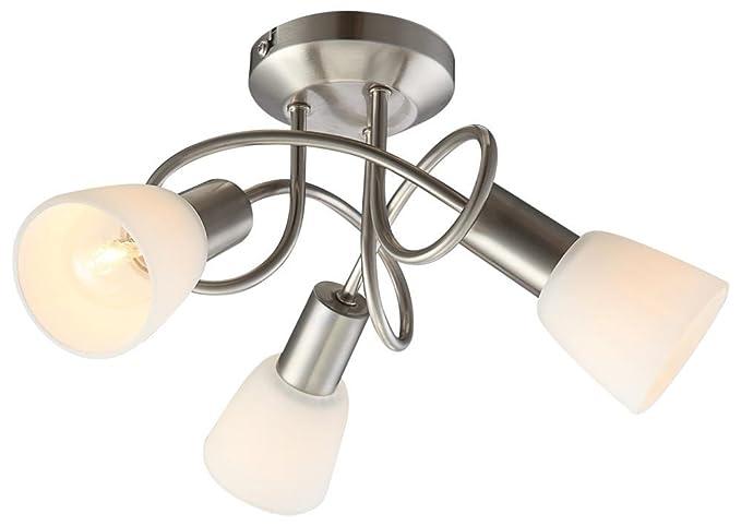 Plafoniere Rgb : Rgb led watt plafoniera di illuminazione del punto vetro