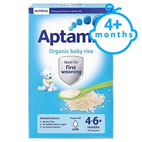 Aptamil Organic Baby Rice 100G 4 Mth+ Brand Aptamil