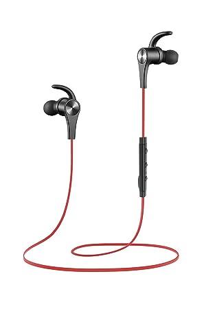 251e241b379 SoundPEATS - Auriculares Bluetooth 4.1 Cascos Inalámbrico Deportivos,  Tecnología de Ruido de Cancelación CVC 6.0, Sonido Estéreo de Calidad  Superior, ...