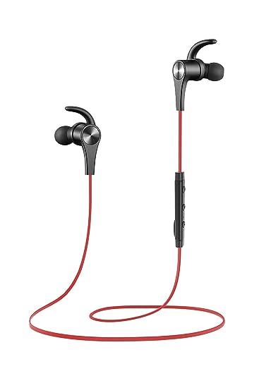 f5df50ee631 SoundPEATS Bluetooth Headphones in Ear Wireless Earbuds 4.1 Magnetic  Sweatproof Stereo Bluetooth Earphones for Sports with