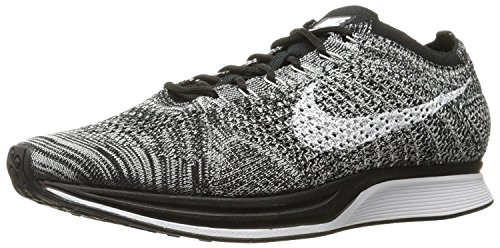 Nike Mens Flyknit Racer Running Shoes - 526628 602, nero - nero, 39 D(M) EU/6 D(M) UK