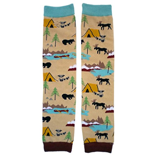 Price comparison product image Huggalugs Boys or Girls Great Outdoors Camping Legwarmers