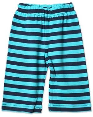 Navy/Pool Stripe Pant