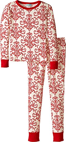 Price comparison product image BedHead Kids Unisex Tween Snug Fit Classic PJ (Big Kids) Candy Canes Pajama Set 14 (Big Kids)