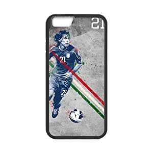 iPhone 6 Case, [soccer] iPhone 6 (4.7) Case Custom Durable Case Cover for iPhone6 TPU case(Laser Technology)