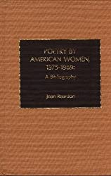 Poetry by American Women 1975-1989: A Bibliography