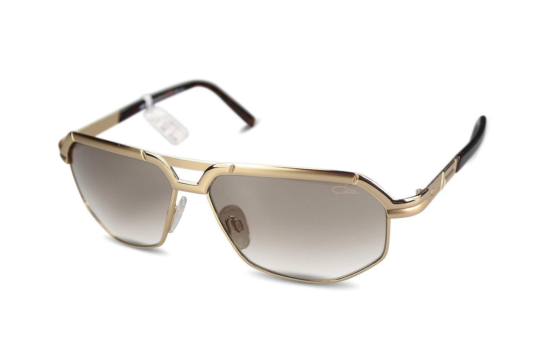 Cazal - Gafas de sol - Rectangular - para mujer dorado ...