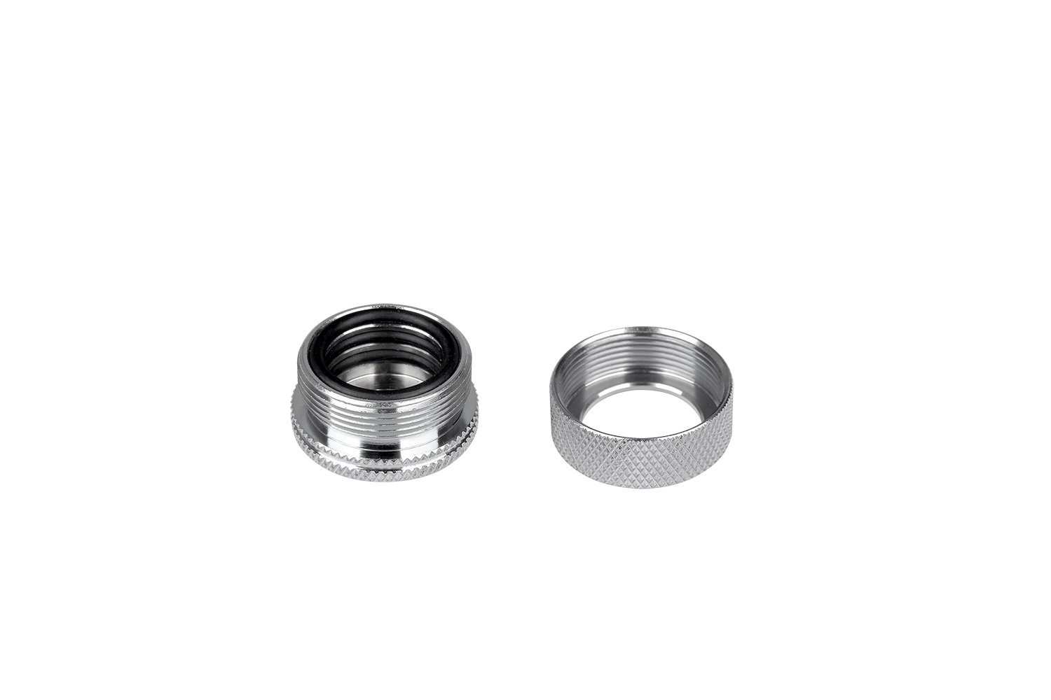 Thermaltake Pacific DIY LCS G1/4'' PETG Tube 16mm (5/8'') OD Compression Fitting CL-W092-CA00SL-A Silver