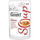 Gourmet Soups Adult Cat With Tuna, Anchovies & Whitefish Pouch 40g