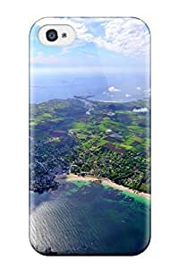AnnaSanders Design High Quality Pretty Aerial View Digital Cover Case With Excellent Style For Iphone 4/4s wangjiang maoyi