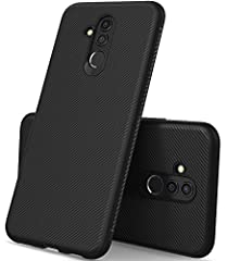 Huawei mate 20 lite case, KuGi JS [Scratch Resistant] Premium Flexible Soft Anti Slip TPU Case For The Huawei mate 20 lite smartphone Material : The case is made from TPU that is imported from Germany. Creative new formula in TPU material he...