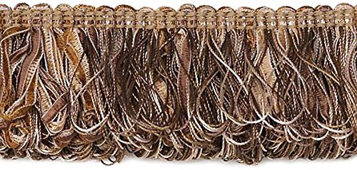 Expo International Allie Loop Fiber Fringe Trim, 10 yd, - Fiber Trim Loop