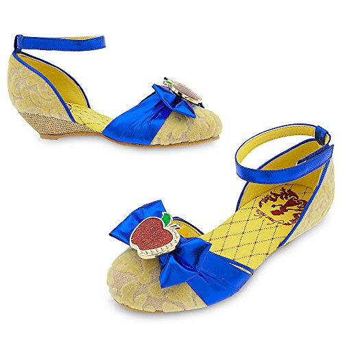 Disney Snow White Costume Shoes for Kids Size 2/3 Youth -