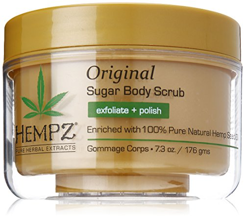 Herbal Scrub - Hempz Original Herbal Sugar Body Scrub, 7.3 Fluid Ounce