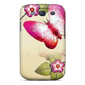 New Shockproof Protection Case Cover For Galaxy S3/ Butterfly Painting Case Cover