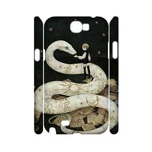 DIYPCASE Samsung Galaxy Note 2 N7100 case Snake Photography Customized Hard Case