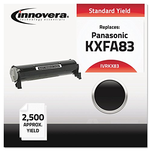 KX83 Compatible, Remanufactured, KXFA83 Laser Toner, 2500 Yield, Black