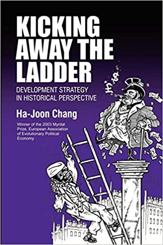 Kicking away the ladder.
