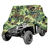 NEVERLAND Universal 300D Heavy Waterproof UTV Cover Utility Vehicle Storage Camouflage