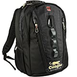 RIDGETEK Outoor Daypack Backpack for Men & Women with Padded Airflow Technology, Rain Cover, Laptop Compartment and Headphone Jack. Best for Hiking, Camping and Travel - 30L