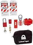 Brady 95550 Portable Lockout Kit, Filled, Electrical, 6