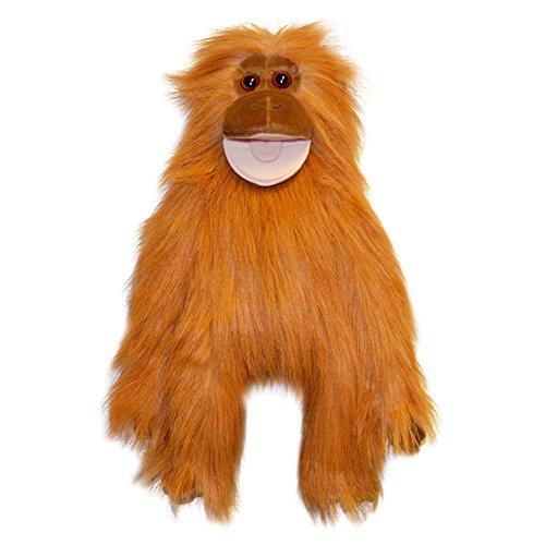 The Puppet Company Colorful Monkeys Orangutan Monkey Hand Puppet ()